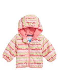 Columbia Mini Pixel Grabber™ II Water Resistant Hooded Jacket (Baby Girls)