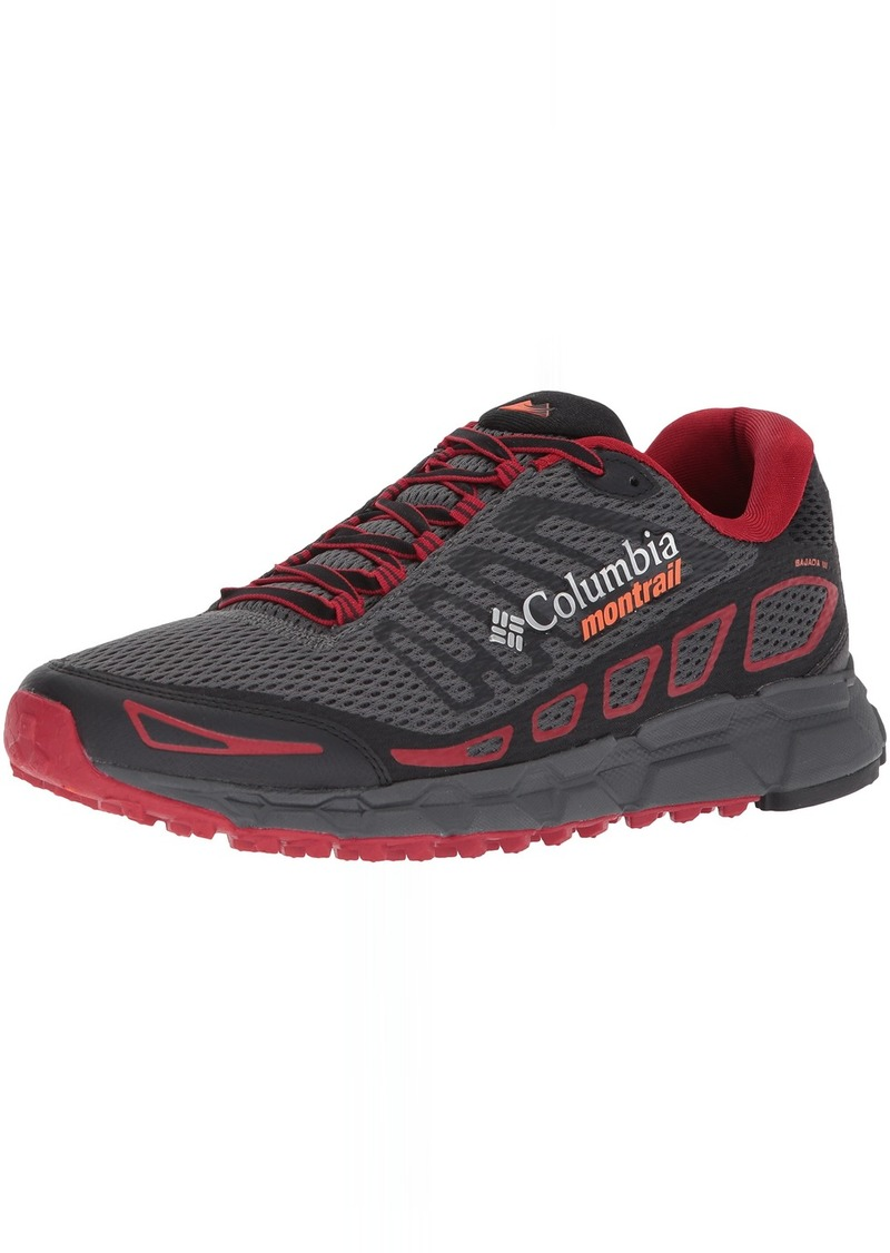 Columbia Men's Bajada III Trail Running Shoe   D US