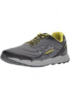 Columbia Montrail Men's CALDORADO III Outdry Trail Running Shoe ti Grey Steel Zour 7.5 D US