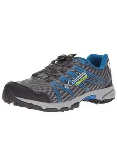 Columbia Montrail Men's Mountain Masochist IV Outdry Trail Running Shoe ti Grey Steel Bright Green 8.5 D US