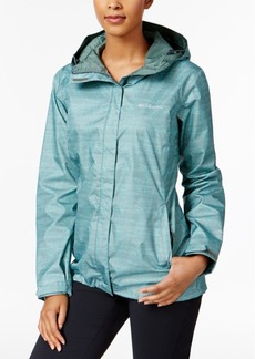 Columbia Omni-Tech Arcadia Printed Raincoat