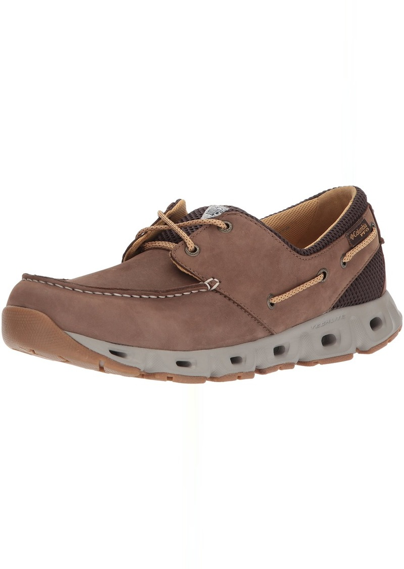 Columbia PFG Men's BOATDRAINER III PFG Boat Shoe   Regular US
