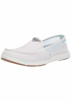 Columbia PFG Women's Delray II Slip PFG Boat Shoe   Regular US