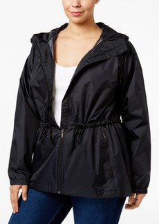 Columbia Plus Size Arcadia Hooded Waterproof Jacket