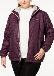 Columbia Plus Size Bella Plush Hooded Jacket