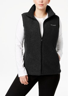 Columbia Plus Size Benton Springs Fleece Vest
