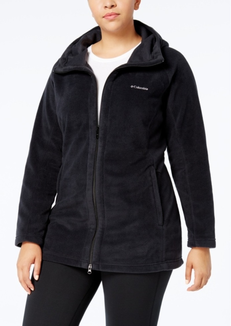 Columbia Plus Size Benton Springs Hooded Fleece Jacket