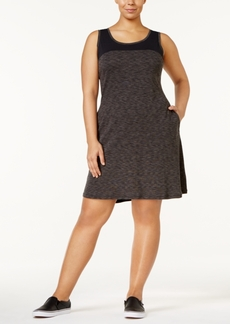 Columbia Plus Size Outerspaced Space-Dyed Dress
