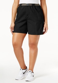 Columbia Plus Size Sandy River Belted Cargo Shorts