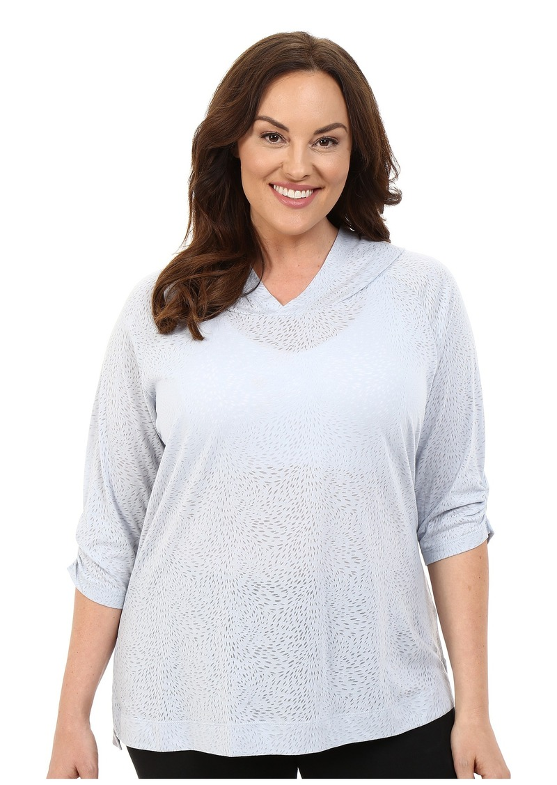 Columbia Plus Size See Through You™ Burnout Hoodie