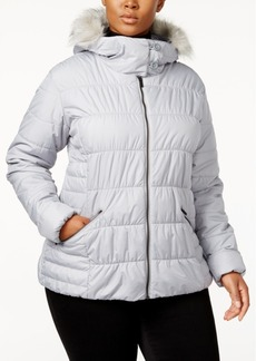 Columbia Plus Size Sparks Lake Faux-Fur-Trim Puffer Jacket