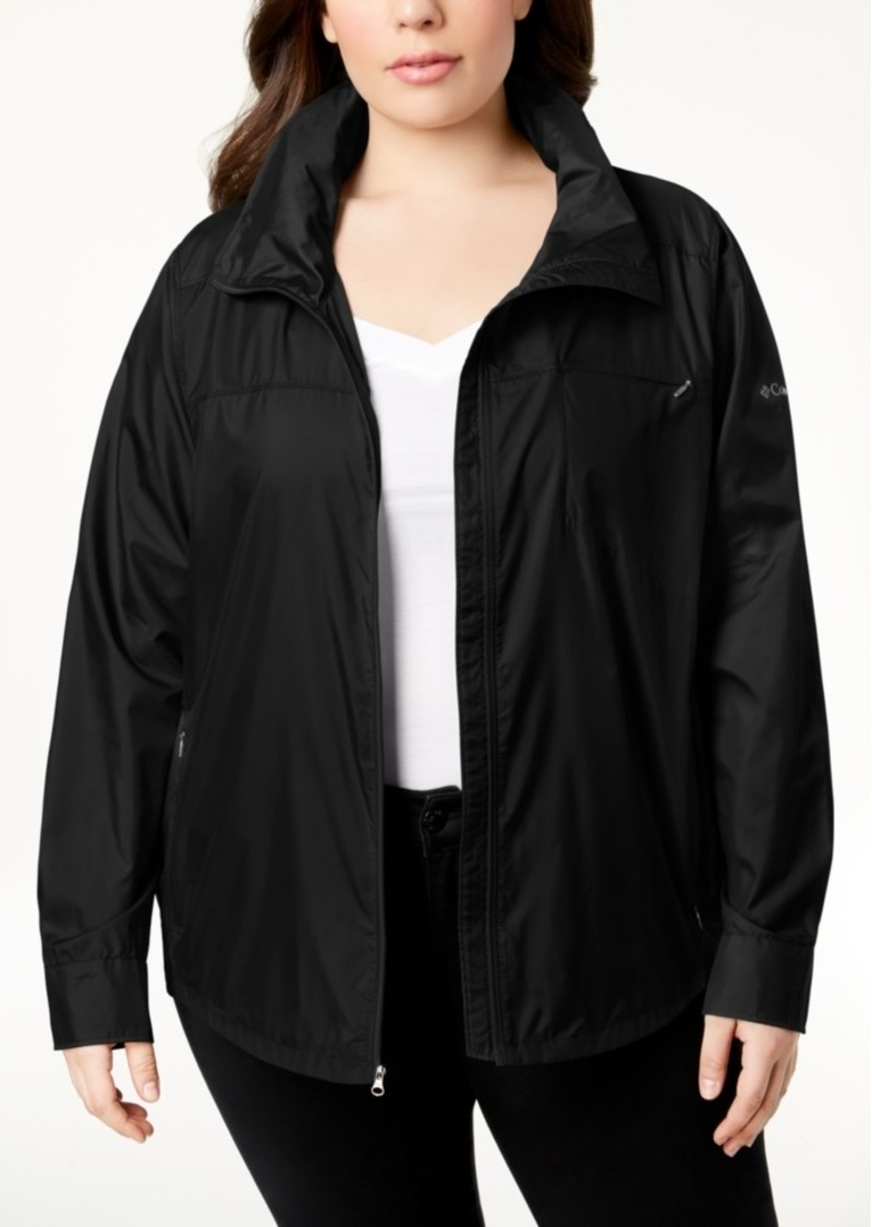 905a087b906 Columbia Columbia Plus Size Sustina Springs Windbreaker