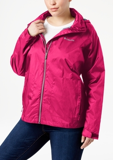 Columbia Plus Size SwitchBack Ii Packable Rain Jacket