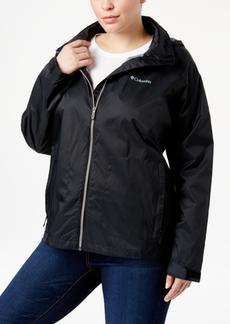 Columbia Plus Size SwitchBack Ii Packable Rain Jacket
