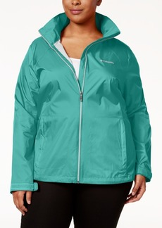 Columbia Plus Size Switchback Ii Omni-Shield Water-Repellent Jacket