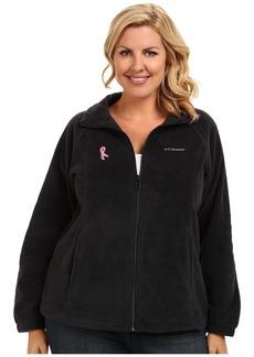 Columbia Plus Size Tested Tough In Pink™ Benton Springs Full Zip