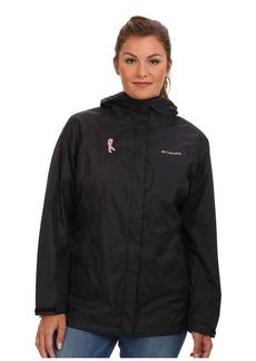Columbia Plus Size Tested Tough in Pink™ Rain Jacket II