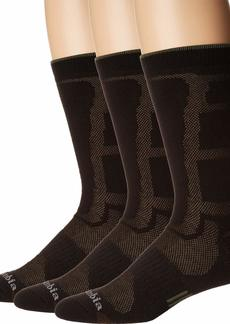 Columbia mens Poly Mesh Vent Cush Crew Socks 3-pair (Shoe Size  Us Men's) Socks  6 12 US
