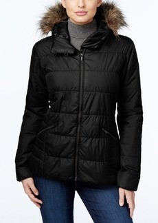 Columbia Sparks Lake Faux-Fur-Trim Thermal Coil Puffer Jacket