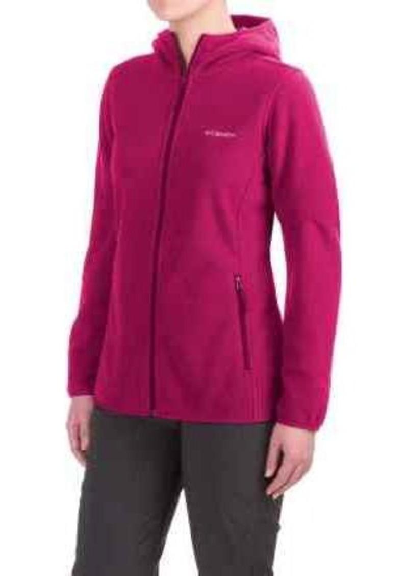 392553b440ea3 Columbia Sportswear Fuller Ridge Hooded Fleece Jacket - Full Zip (For Women)