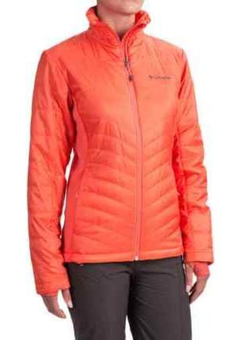 e0aa5ef2ce4 Columbia Sportswear Mighty Lite Omni-Heat® Hybrid Jacket - Insulated (For  Women)
