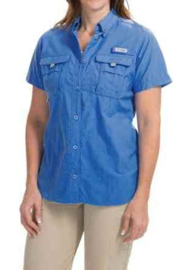 Columbia columbia sportswear pfg bahama shirt upf 30 for Columbia shirts womens pfg