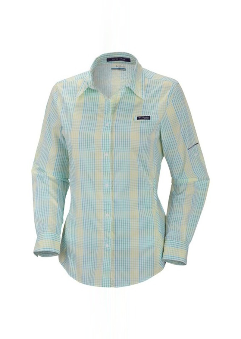 Columbia columbia sportswear pfg super tamiami fishing for Columbia shirts womens pfg