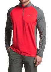 Columbia Sportswear Tenino Hills Shirt - UPF 50, Zip Neck, Long Sleeve (For Men)