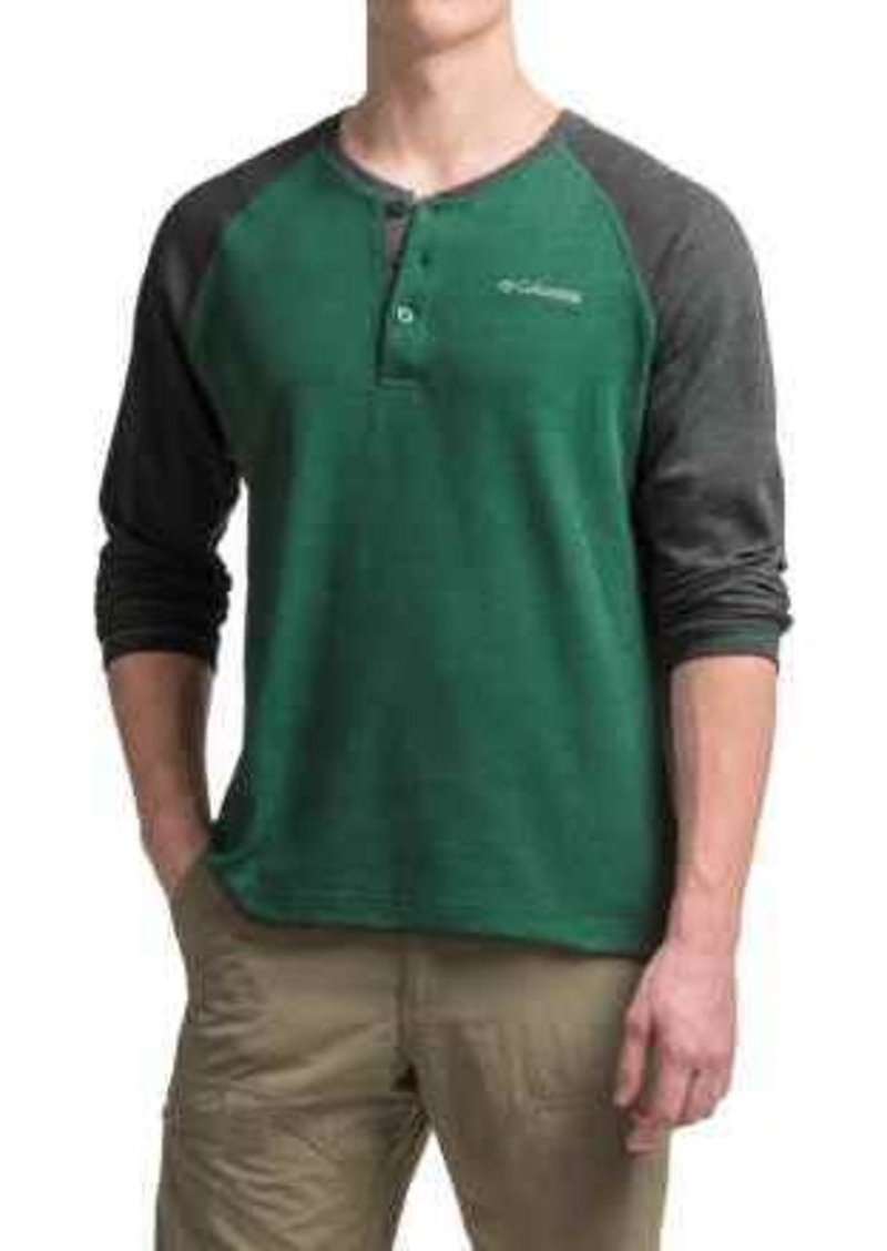 0f6e91d0f2e Columbia Sportswear Thomas Meadows Henley Shirt - Long Sleeve (For Men)