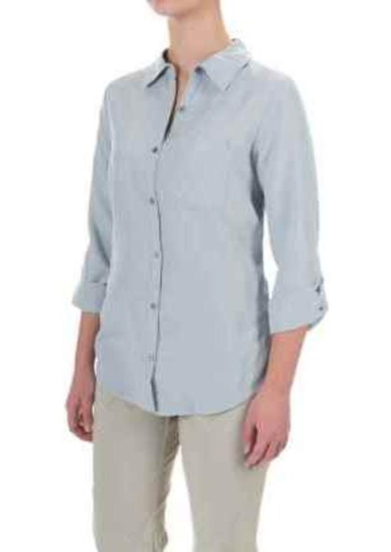 Columbia Sportswear Wayfarer TENCEL® Shirt - Button Front, Long Sleeve (For Women)