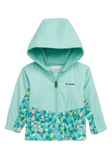 Columbia Steens Mountain™ Overlay Water Resistant Hooded Jacket (Baby Girls)
