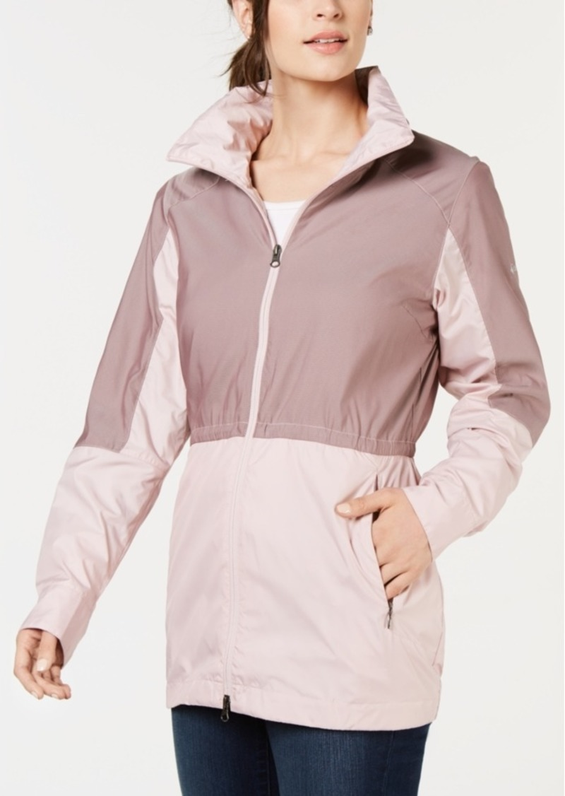 Columbia Sustina Springs Fleece-Lined Windbreaker