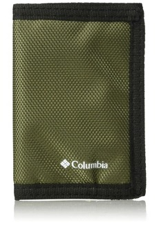 Columbia Tactical Wallets for Men - Sport RFID Blocking Nylon Trifold with Velcro with ID Window and Cash Pockets-olive 1size