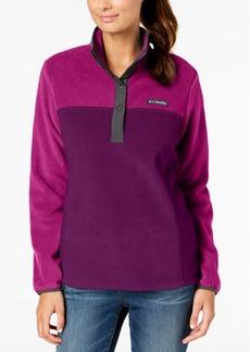 Columbia Three Lakes Colorblocked Fleece Pullover