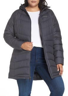 Columbia Winter Haven Water Resistant Hooded Quilted Down Jacket (Plus Size)