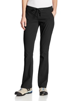 Columbia Women's Anytime Outdoor Boot Cut Pant Pants -black 10xS