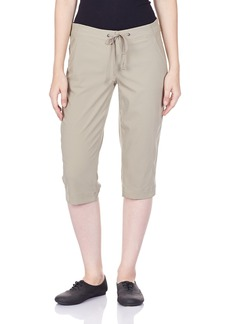 Columbia Women's Anytime Outdoor Capri Water and Stain Repellent  x18