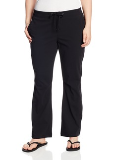 Columbia Women's Anytime Outdoor Plus Size Boot Cut Pant   Regular