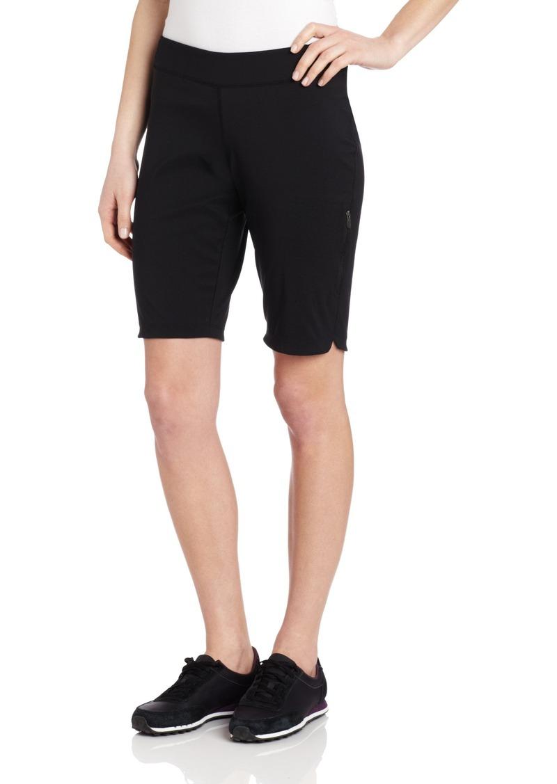 Columbia Women's Back Beauty Long Sport Short Shorts -black XLx11