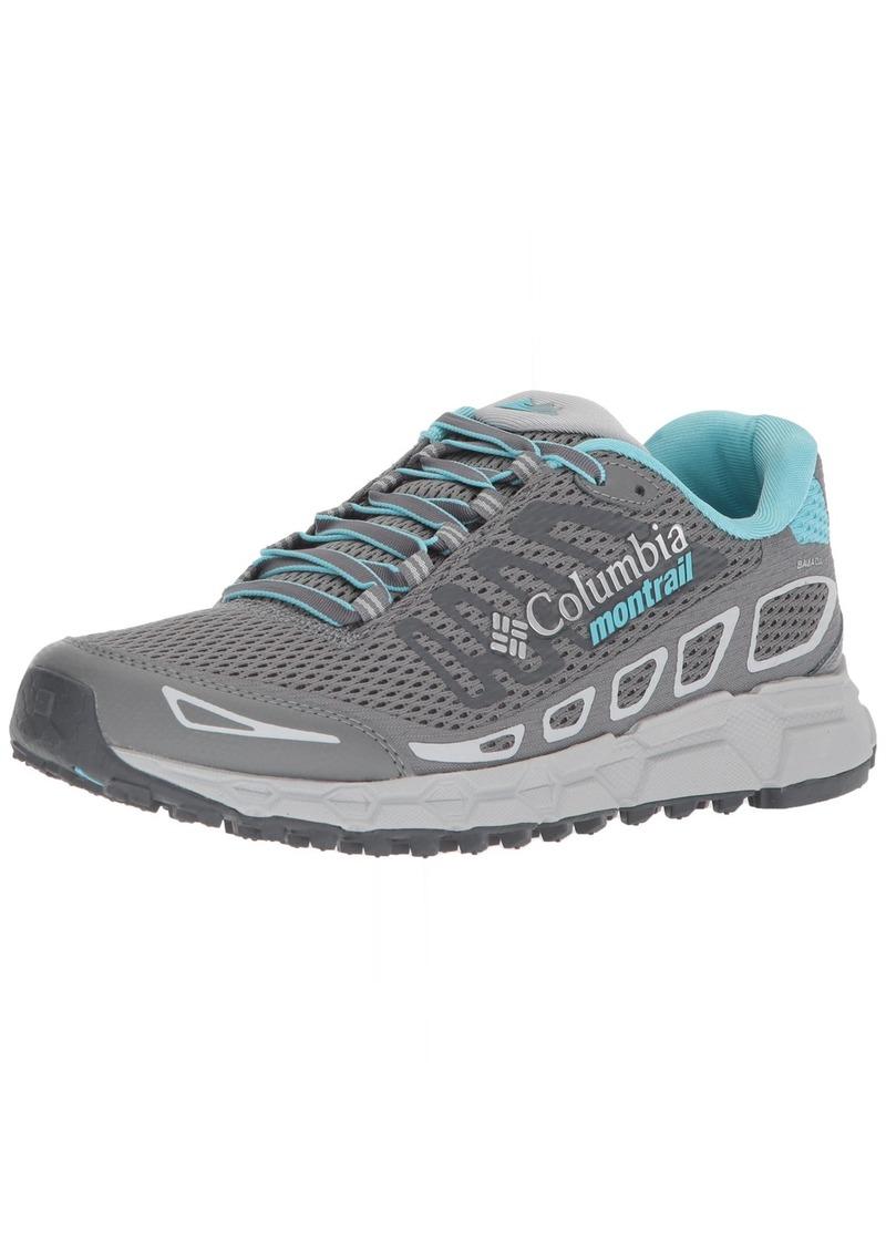 Columbia Montrail Women's Bajada III Trail Running Shoe ti Grey Steel Coastal Blue  B US