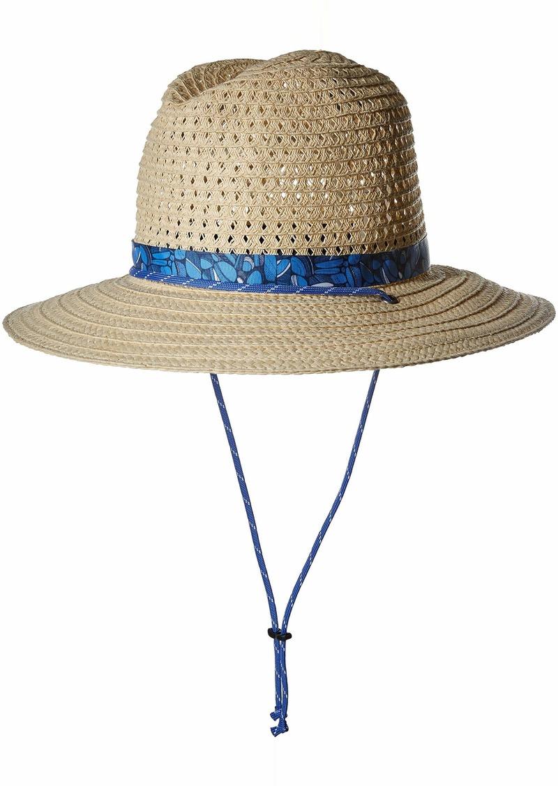 Columbia Women's Bella Falls Straw Hat Fossil/Nocturnal Small/Medium