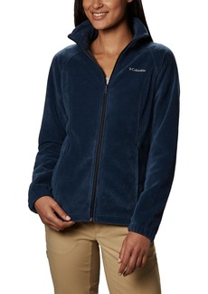 Columbia Women's Benton Springs Classic Fit Full Zip Soft Fleece Jacket navy XL