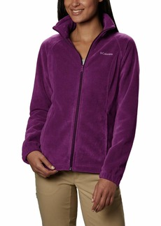 Columbia Women's Benton Springs Full Zip Jacket Soft Fleece with Classic Fit
