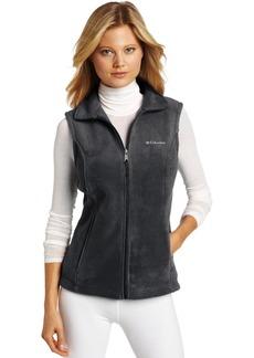 Columbia Women's Benton Springs Soft Fleece Vest charcoal heather XS