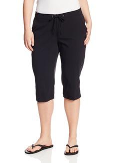 Columbia Women's Plus-size Anytime Outdoor Plus Size Capri Pants -black x18