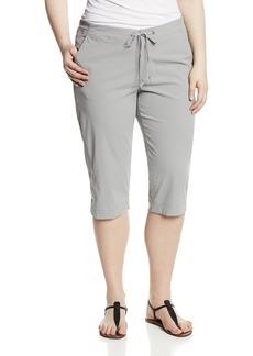 Columbia Women's Plus-size Anytime Outdoor Plus Size Capri Pants -light grey x18