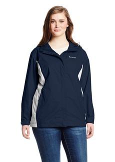 Columbia Women's Big Arcadia II Jacket Plus Navy