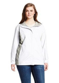 Columbia Women's Big Arcadia II Jacket Plus White/Flint Grey