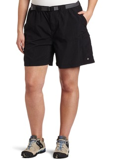 Columbia Women's Plus-size Sandy River Plus Size Cargo Short Shorts black x6