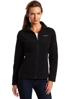 Columbia Women's Fast Trek Ii Full Zip Fleece Jacket Outerwear black L